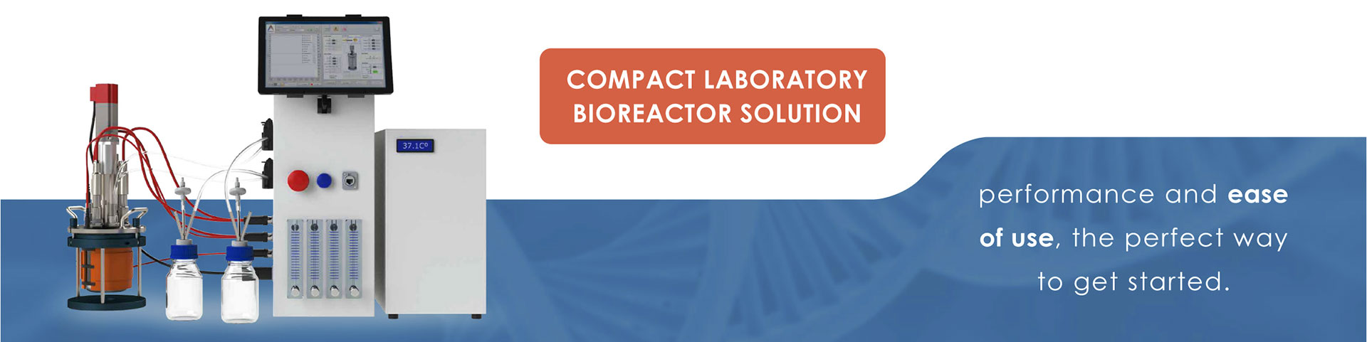 compact laboratory bioreactors Kbiotech